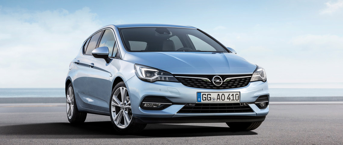 noul Opel Astra Facelift