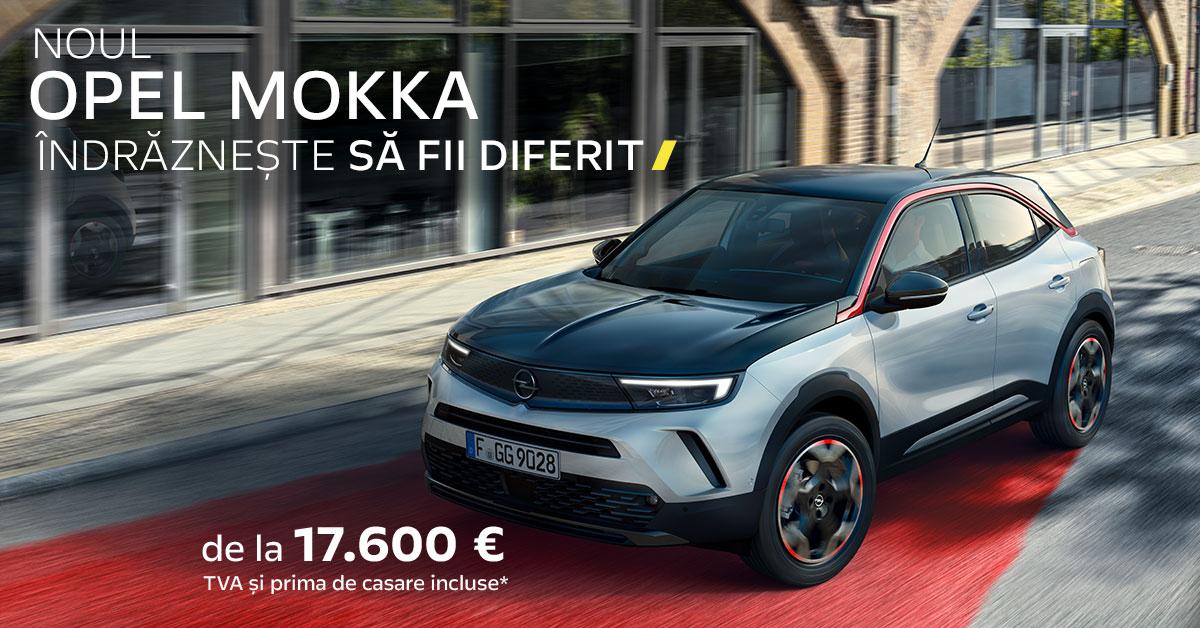 Noul Opel Mokka a ajuns la Timișoara